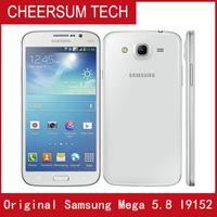 Original desbloqueado Samsung Galaxy Mega 5.8 I9152 Celular Telefones Dual Core 1.5GB RAM 8GB ROM Remodelado 8MP Camera WiFi GPS
