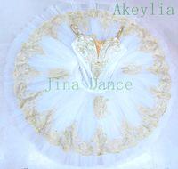 tjejer sova skönhet variation pre-professionell ballett tutus kvinnor raymonda tutu klänning grädde vit och guld klassisk ballett kostym