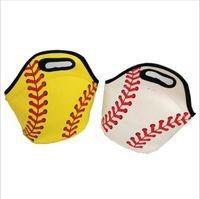 Baseball Food Waterproof Sports Storage Picnic Bags Bags Softball Tote Insulated Cooler Box Lunch Carrier Neoprene Bags B4691 Handbags Rtia