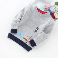 Neue Ankunft Junge Pullover Kinder Kleidung Autos Muster Gestrickte Pullover Baby Boy Pullover Pullover Strickwaren 2-5t Kinder
