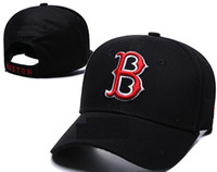 Brand Adjustable Red Sox Baseball Caps Bone Strapback LA Sna...