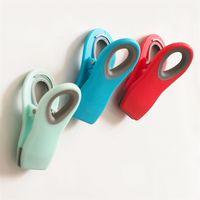 Clip a tenuta magnetica Snack Bag Morsetto ad onda In plastica Antipolvere Clip Vendita calda con vari colori 2 1gf J1