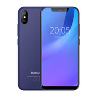 Blackview A30 3G Smartphone 5.5 '' Android 8.1 MTK6580A Quad Core 1.3 GHz 2 GB RAM 16 GB ROM8.0MP + 0.3 MP ID fronte 2500mAh Staccabile