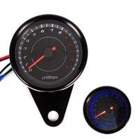 Indicador de combustible DC12V CAR medidor de combustible LED Digital para la motocicleta del coche