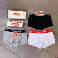 U Convex Cotton Teenager Boxers Fashion Letter Printed Men U...