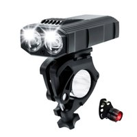دراجة ضوء USB قابلة للشحن 3000 مللي أمبير دراجة ضوء الدراجات mtb كشافات الصمام مصباح يدوي للماء التخييم الفوانيس المحمولة