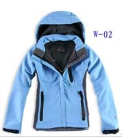 뜨거운 판매 여자 Denali Fleece 후드 재킷 패션 캐주얼 따뜻한 방풍 스키 코트 재킷 Asain S-XXL 정장