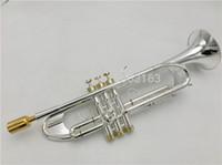 Bach Tromba LT190S-77 Strumento musicale Bb trumpete piatto d'argento di classificazione tromba preferito prestazioni professionali di trasporto