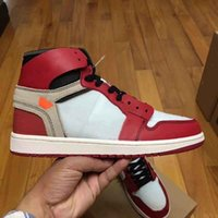 1 OG Basketball Shoes Mens Chicago red 1S Sneakers off women...