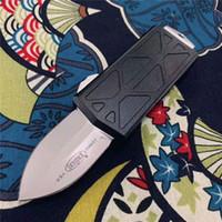 Yeni Geliş! Mikro teknoloji bıçaklar Uçan Balık çifte eylem Otomatik bıçak taktik kendini savunma çakı kamp av EDC bıçaklar Exocet