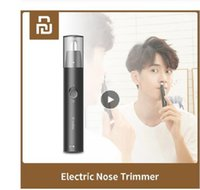 para la nariz XIAOMI MIJIA SHOWSEE C1-BK eléctrico portátil Mini condensadores de ajuste de la nariz del oído máquina de afeitar de pelo Maquinilla de extracción segura a prueba de agua limpia