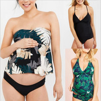 2019 Europe and the United States new maternity swimsuit exp...