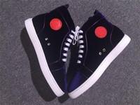 القادمون الجدد زوجين حذاء أحمر أسفل أسود أرجواني المخمل الجلد المدبوغ رفيع أعلى أحذية رجالية الأحمر نعال أحذية الدانتيل متابعة الأحذية عارضة الشحن المجاني