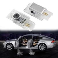 Per porta Cadillac Car luce dell'ombra del fantasma di benvenuto marchio del laser luci del proiettore LED del portello di automobile per la Cadillac ATS XTS SRX