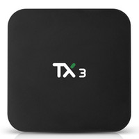 TX3 Android 9.0 TV BOX Amlogic S905X3 2GB 16GB Wifi 2.4 Google Netfilx Youtube 8K Set Top Box устройства