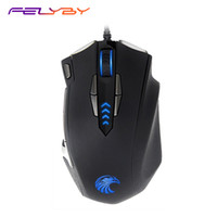FELYBY Z- 7900 High Quality 4000DPI 9 Buttons Computer Wired ...
