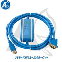 Тип кабель изоляции USB-XW2Z-200S-CV Amsamotion соответствующий кабель программирования FTDI PLC серии Omron CQM1/C200HE/CS