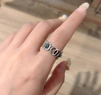 Moda marca flores desenhador anéis moissanite anelli baga para mulheres festa casamento luxo jóias presentes com caixa