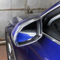 Audi Q5FY2018 를 위한 크롬 아 BS 백미러 구조 문 거울 덮개 손질 2Pcs2019 외부 부속품을 유행에 따라 디자인 하는 차