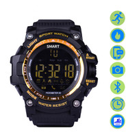 EX16 Smart Sports Watch Bluetooth 4.0 5ATM compatibile con IOS Android Sleep Monitor Calorie Counter Low Power Watc