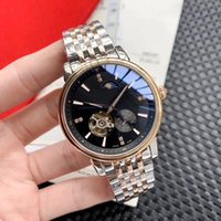 Top luxury watches 43mm men' s boutique moon phase hollo...
