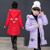 Winter Childrens Clothing 5- 14 Kids Down Cotton Outerwear Gi...