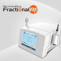 Frazionale RF Microneedle Micro ago pelle di serraggio Anti rughe Radio Frequency macchina thermage 81pins 49pins 25pins Nanopins