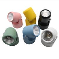 SXI ücretsiz kargo 3 W düğün için LED spot ışık arka plan cob aşağı 3 M sticker ile ışık tavan ışık