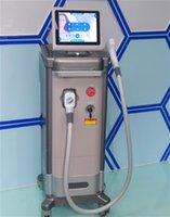 Satılık Süper 808nm Işık Şeffaf Diod Lazer IPL Epilasyon Sistemi 808nm Diod Lazer Soprano 808 Diyot Lazer Epilasyon Makinesi