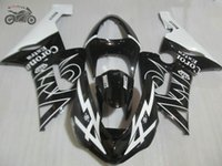 Мотоцикл обтекатель комплект для Kawasaki Ninja ZX6R ZX636 05 06 ZX-6R 2005 2006 черный corona кузов дорожные спортивные обтекатели комплект