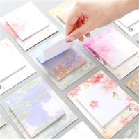 Romantische Kirschblüte-Anmerkungs-Papier-Klebrige Note Nette Note N-mal kreativer Beitrag