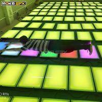 LED Dacne Etage DMX Interactive Etage SD Card Control Hochzeit Tanzfläche zum Verkauf für Dj Nachtclub-Party