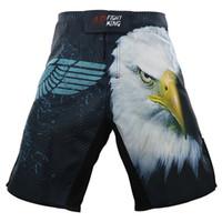 Бои ММА спортивные шорты UFC и смешанных боевых обучение фитнес джиу-джитсу работает пляж Муай Тай мышцы шорты мужчин летние шорты T200414