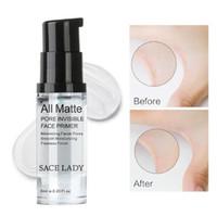 Hot SACE LADY All Matte Pore Invisible Face Primer Suavizante Hidratante Acabado impecable Base de maquillaje Tamaño de muestra 6ml Maquillaje facial