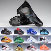 KITH x Ace 17+ PureControl crampons de football GOLD Camo hauts sommets chaussures de football de dragon chaussette extérieure Paul Pogba Capsule Angkle chaussures de sport FG