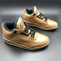 Cool Basetball Shoes 3 6IX Bronze Gold Mens Fashion Sneakers...