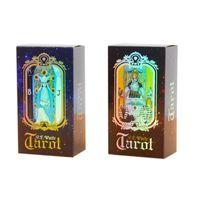 Tarot Kartları Rider Waite Tarot Kartları 78 Tarot Kartları Geleceği Renkli Kutu Kraliçesi Klasik Oyunu Ile Oyunu Anlatıyor