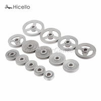 Швейные понятия Инструменты Промышленная машина Timming Transfer Transfer Колесные Колесные колеса Все размеры 45 мм-120 мм Сплошной / Полый алюминий 14 Hicello