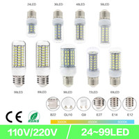 SMD5730 LED Corn Light E27 GU10 B22 E14 G9 LED Light 7W 12W ...