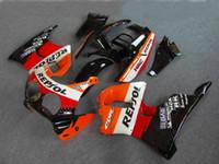 ホンダCBR900RRのためのオートバイフェアリングキット893 91 92 93 94 95 CBR900 RR 1991 1991 1995赤オレンジブラックフェアリングセット+ギフトHB09
