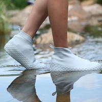 Защитный чехол для обуви силиконовый гель водонепроницаемый дождевой чехол для обуви многоразовые резиновые эластичные галоши дождевые сапоги пригодные для вторичной переработки