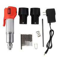 Lade Drill 12V Lade Elektro-Schrauber Stecker-Typ Multifunktions-Lithium Power Tool Drill