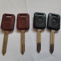 Transponder Araç Anahtar Shell için Nissan Versa Teana Livina Sylphy Tiida Sunny Mart X-trail Uzaktan Otomatik Anahtar Kılıf Fob Kapak