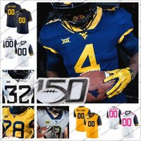 Custom West Virginia Mountaineers Any Name Number #1 T. J. Si...