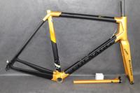 Colnago C64 Route Carbone Vélo bicyclette de carbone de la monture Matte taille de l'image de route en carbone brillant 48cm 52cm 54cm 56cm 50mm