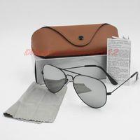 جودة عالية فاسل الرجال النساء مصمم الكلاسيكية الطيار النظارات الشمسية نظارات الذهب الإطار الذهب الأخضر 58 ملليمتر و 62 ملليمتر عدسة النظارات تأتي مع مربع