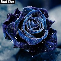 Полная площадь Алмазного 5D DIY Алмазная Картина «роза» Вышивка крест горного хрусталь Мозаика Живописи Декора