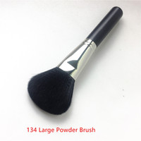 M134 LARGE POWDER BRUSH - Synthetic Hair for Loose & Compact...