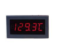 لوحة مثبتة على نوع K الحرارية درجة الحرارة متر عالية الدقة -200 إلى 1372 سل الحرارية الاستشعار متر إشارة العرض