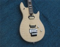 Free Shipping 22 double shake electric guitar cream white co...